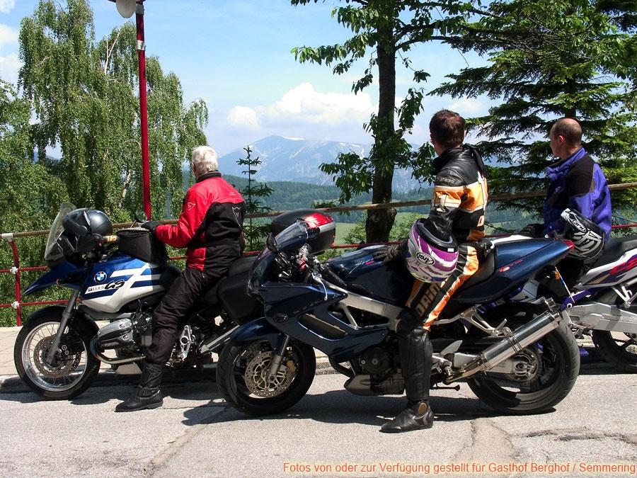 Sommer am Semmering - Motorrad