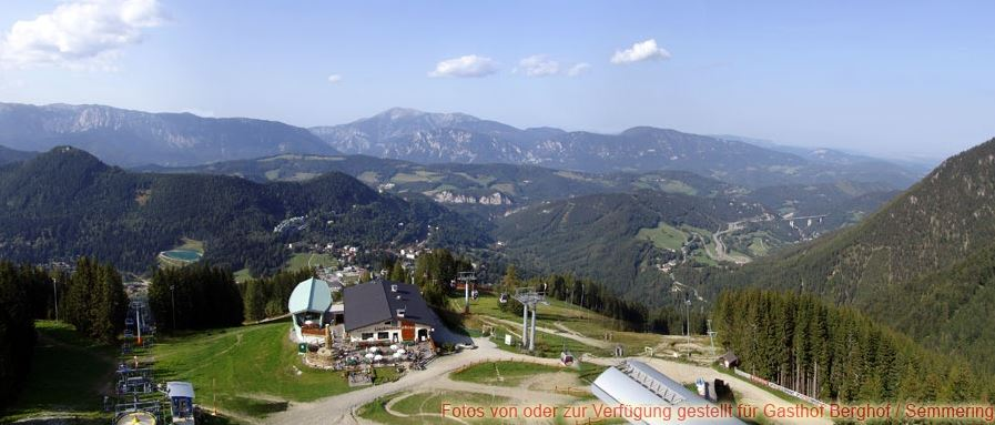 Sommer am Semmering - Panorama