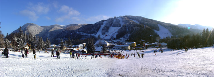 Happylift am Semmering Panorama