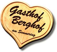 Willkommen im Gasthof Berghof am Semmering Logo